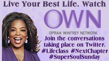 Watch Oprah and the Oprah Winfrey Network then Follow the conversation on Twitter using hashtags Lifeclass Super Soul Sunday and Next Chapter